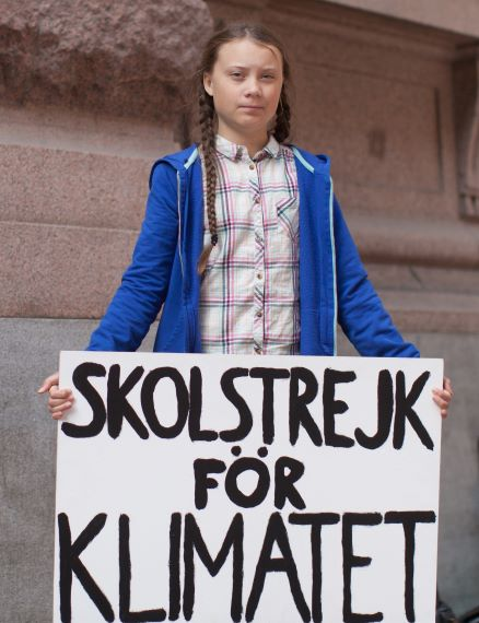 Greta Thunberg, Foto von Anders Hellberg - Eigenes Werk, CC BY-SA 4.0, https://commons.wikimedia.org/w/index.php?curid=77270098